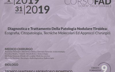 Diagnostica e trattamento della patologia nodulare tiroidea: Ecografia, Citopatologia, Techine molecolari ed approcci chirurgici